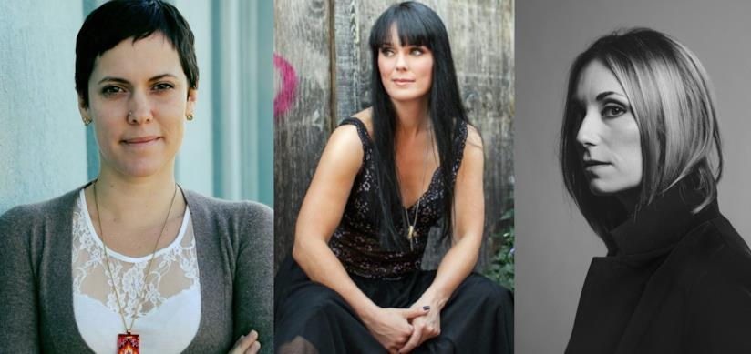 Le registe canadesi Sonia Boileau, Michelle Latimer, Jordan Canning