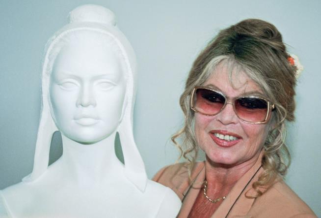 Uno scatto di Brigitte Bardot risalente ad alcuni anni fa
