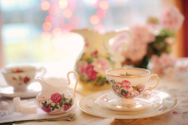 Sale da tè a Edimbugo