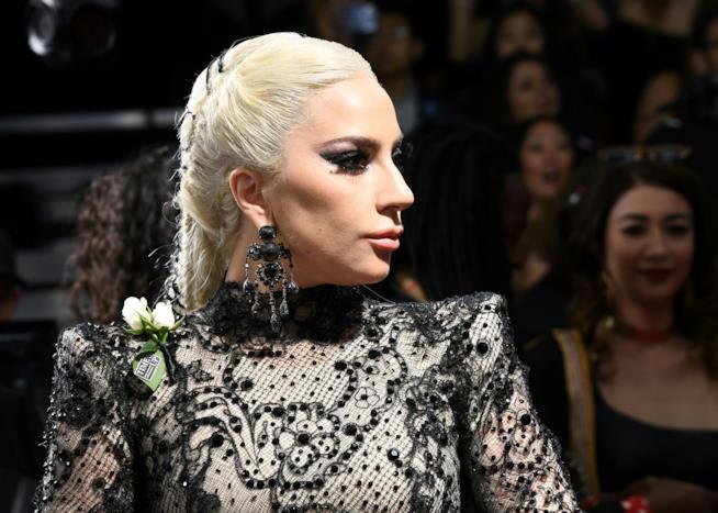 Lady Gaga in un recente scatto sul red carpet