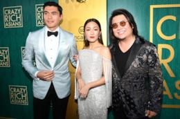 Henry Golding, Constance Wu e Kevin Kwan