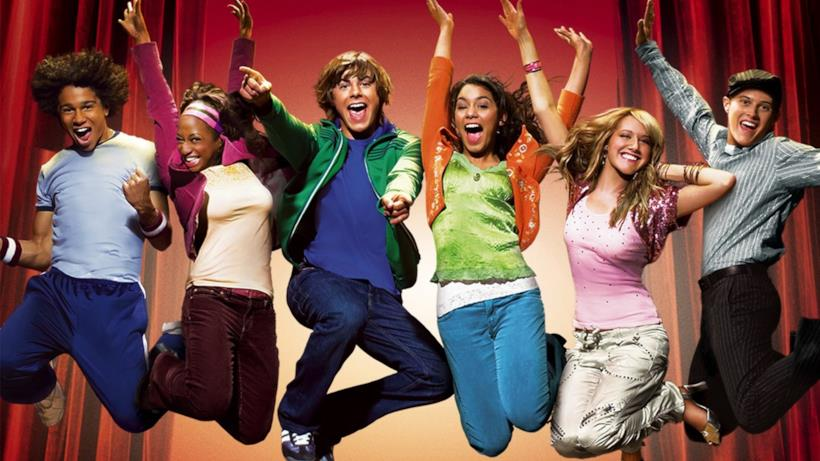 HIgh School Musical, la locandina originale del film