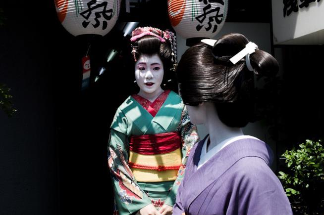 Geishe giapponesi