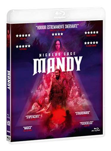 Mandy DVD e Blu-Ray