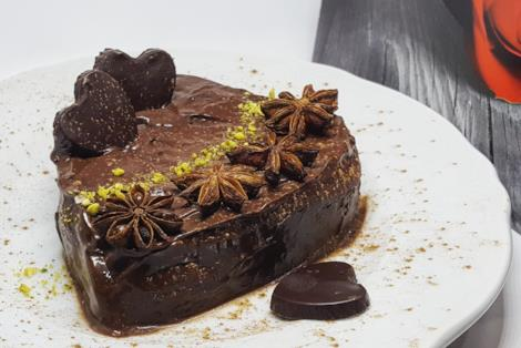 Cuore di cioccolato