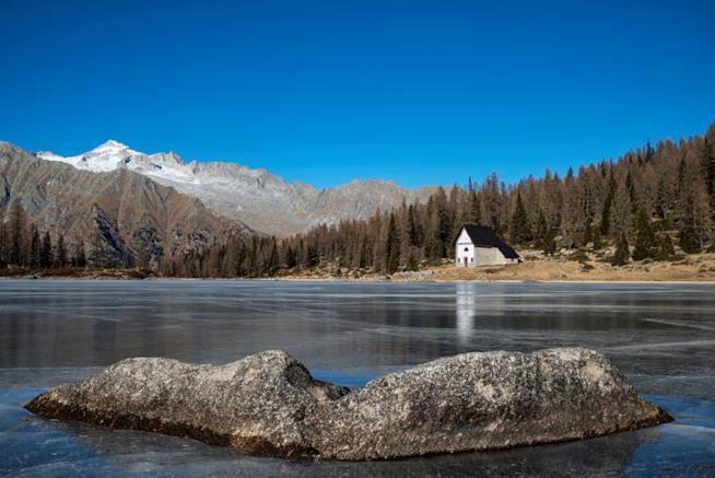 Lago sulla Dolomiti