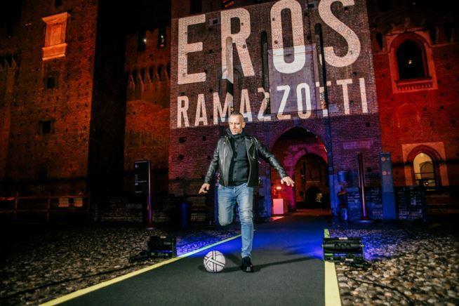 Eros Ramazzotti al Castello Sforzesco
