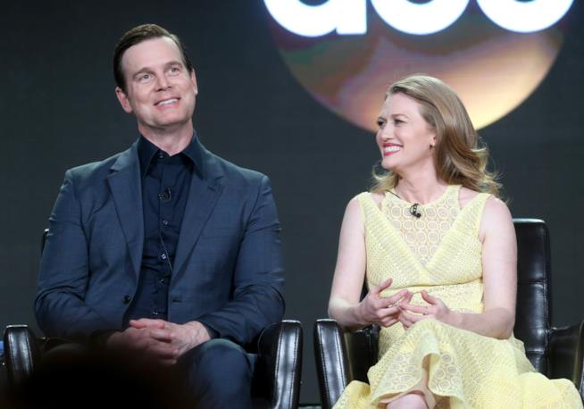Alice e Ben nella prima stagione di The Catch
