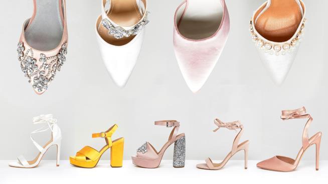 La TOP10 delle scarpe da sposa 24308be25b8