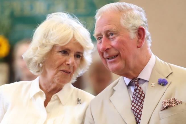 Carlo d'Inghilterra con la moglie Camilla