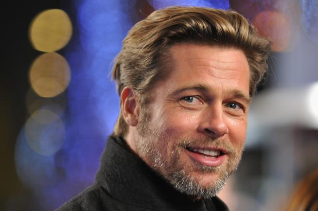 Brad Pitt in primo piano