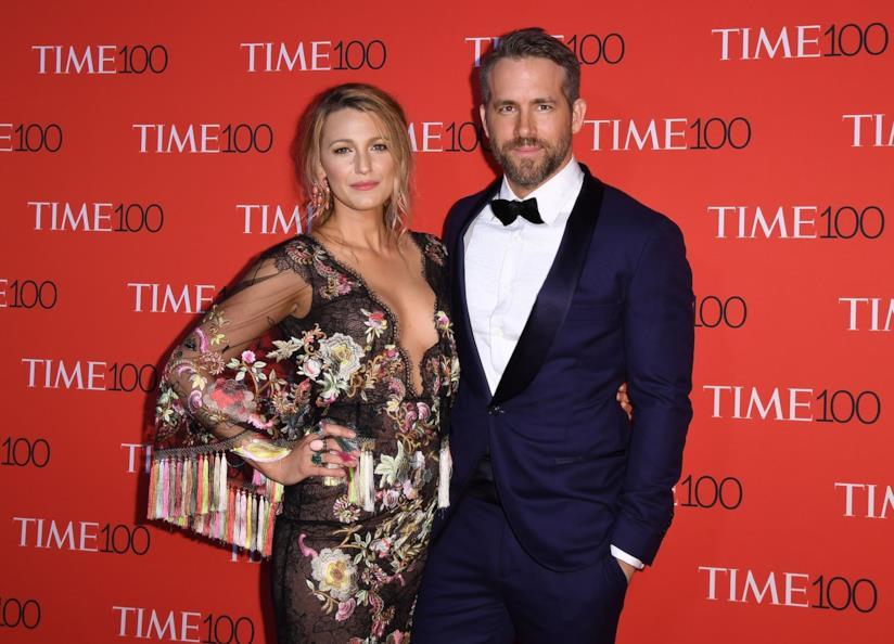 Blake Lively con il marito Ryan Reynolds
