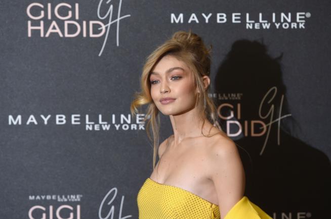 La top model Gigi Hadid