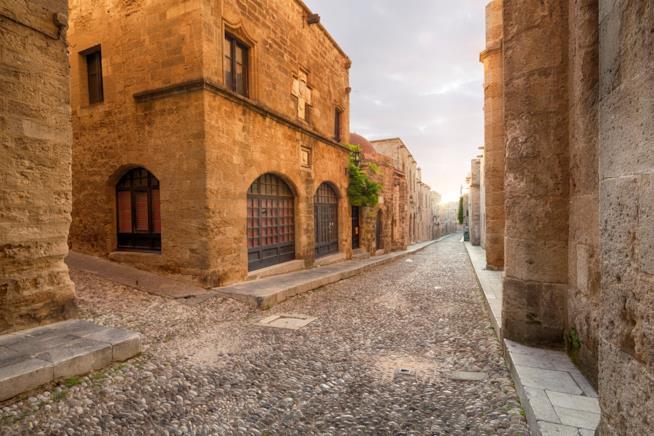 Città vecchia a Rodi