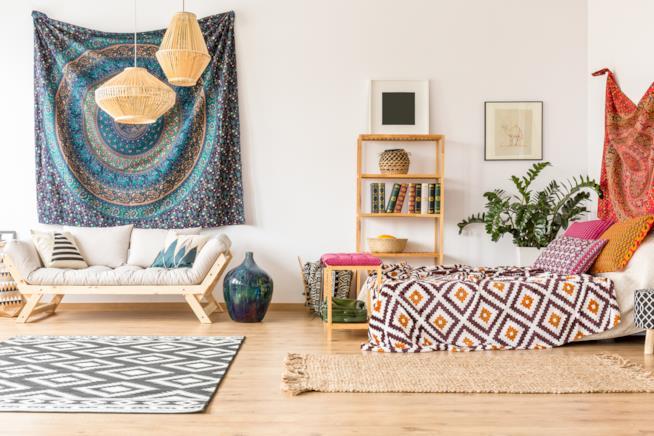Idee di design per arredare casa in stile etnico declinandolo in vari modi a seconda dei gusti