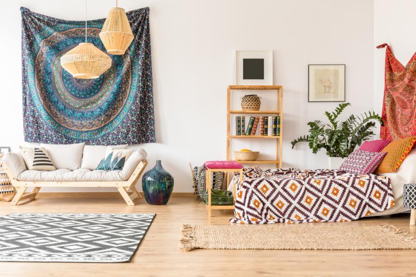 b954afe30b0c Idee di design per arredare casa in stile etnico declinandolo in vari modi  a seconda dei