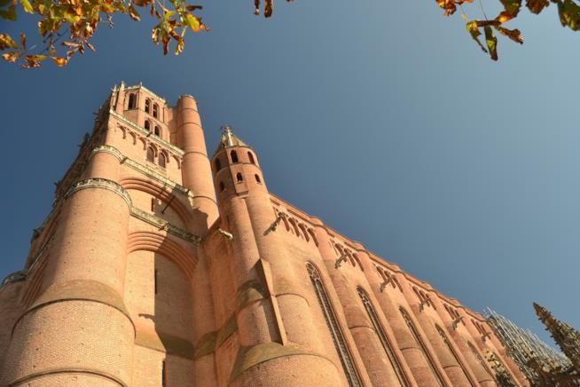 L'imponente cattedrale di Santa Cecilia