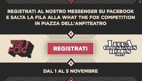 Registrati e salta la fila a Lucca Comics & Games