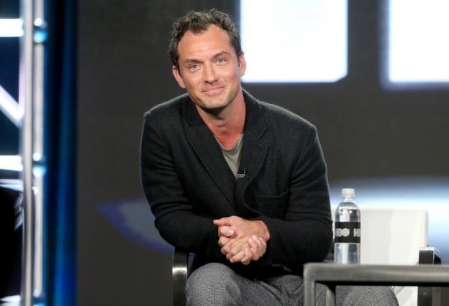 L'attore Jude Law