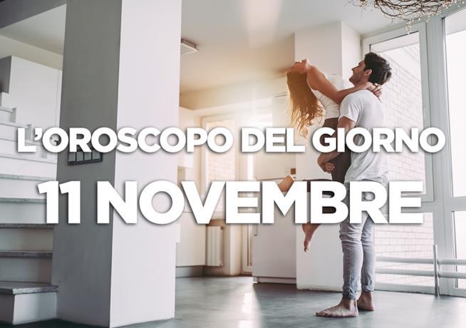 L'oroscopo del giorno di Domenica 11 Novembre