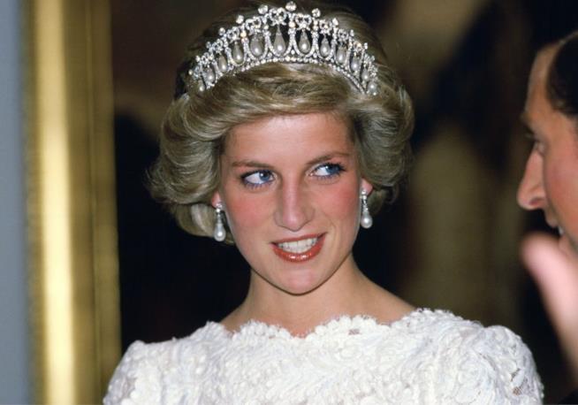 Lady Diana con la sua tiara preferita