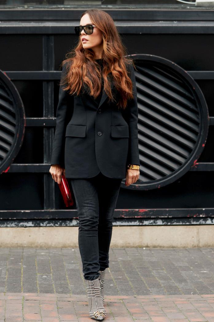 Blazer total black