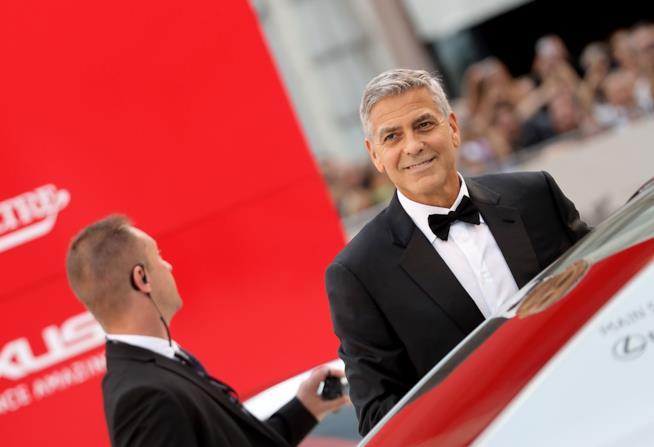 George Clooney a Venezia 74