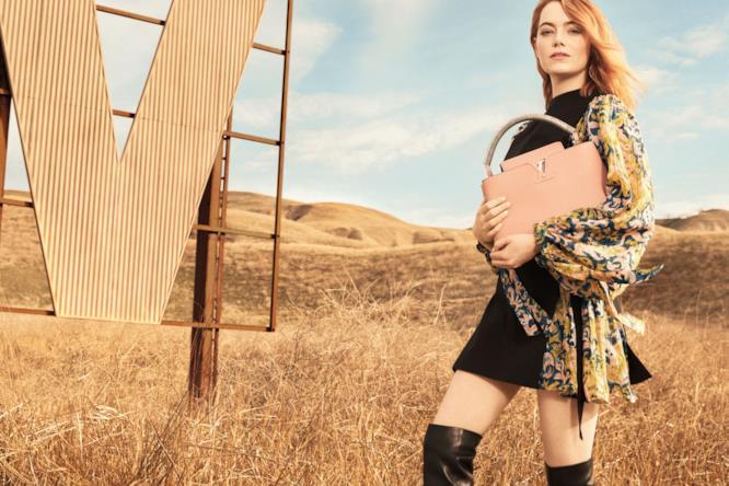 Emma Stone veste Louis Vuitton