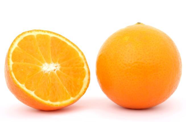 Un'arancia e mezza