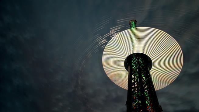 Il Prater di Vienna e la sua altissima torre