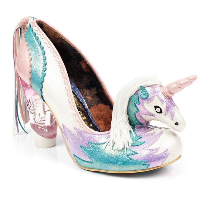 Le scarpe Irregular Choice ispirate agli unicorni