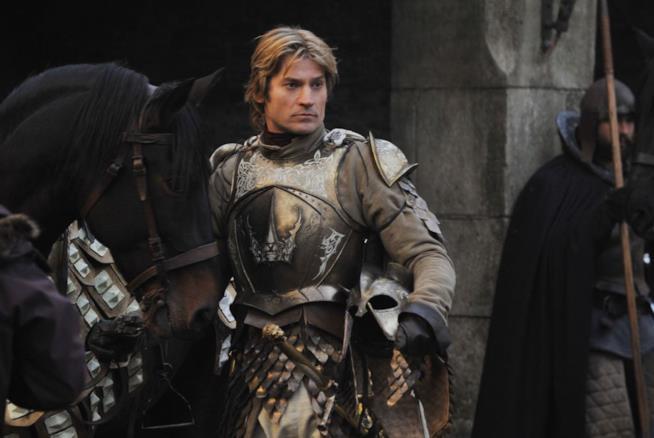 Jaime Lannister con i capelli più lunghi