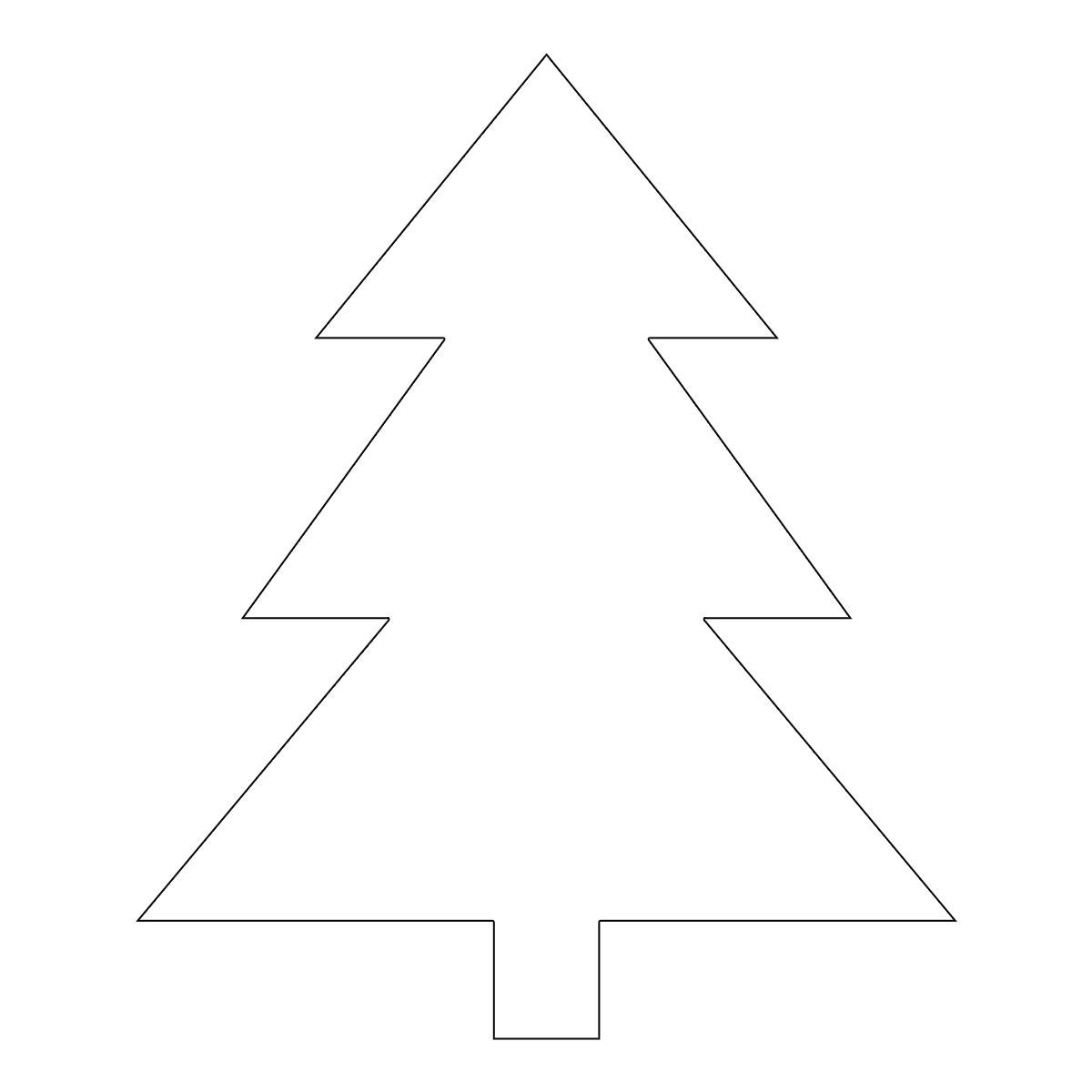 Immagini Di Alberi Di Natale Da Colorare E Stampare.Albero Di Natale Disegni Da Scaricare Stampare E Colorare