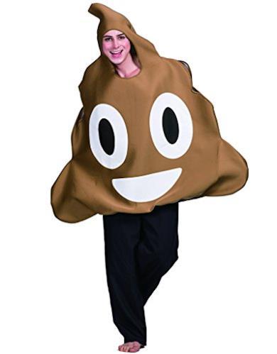 Cacca Emoji Adulto - Costume Divertente