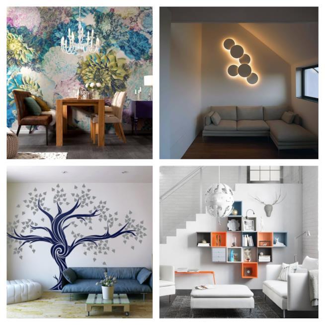 Come decorare le pareti di casa in modo creativo - Decorazioni pareti ikea ...