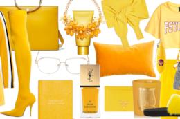 Consigli outfit total yellow