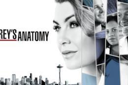 Un dettaglio del poster di Grey's Anatomy 14