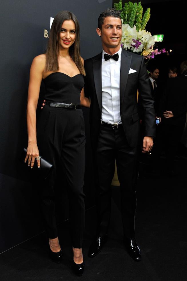 Irina Shayk con Cristiano Ronaldo
