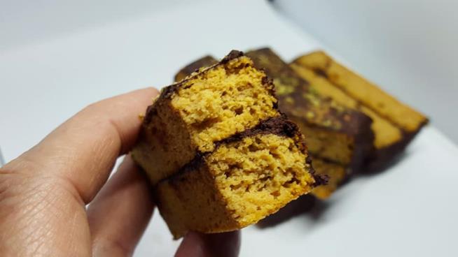 Barretta gialla al cacao