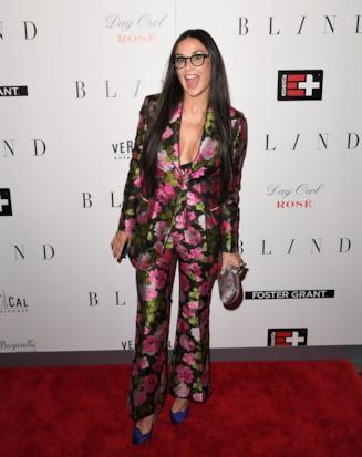Demi Moore alla prima di Blind