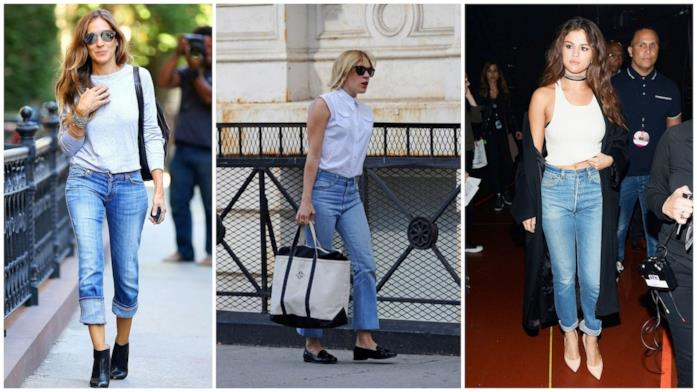 Le star che indossano i mom jeans