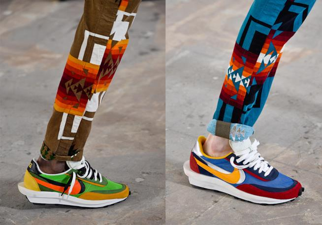 Sacai x Nike Parigi Fashion Week 2019