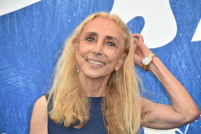 Primo piano di Franca Sozzani
