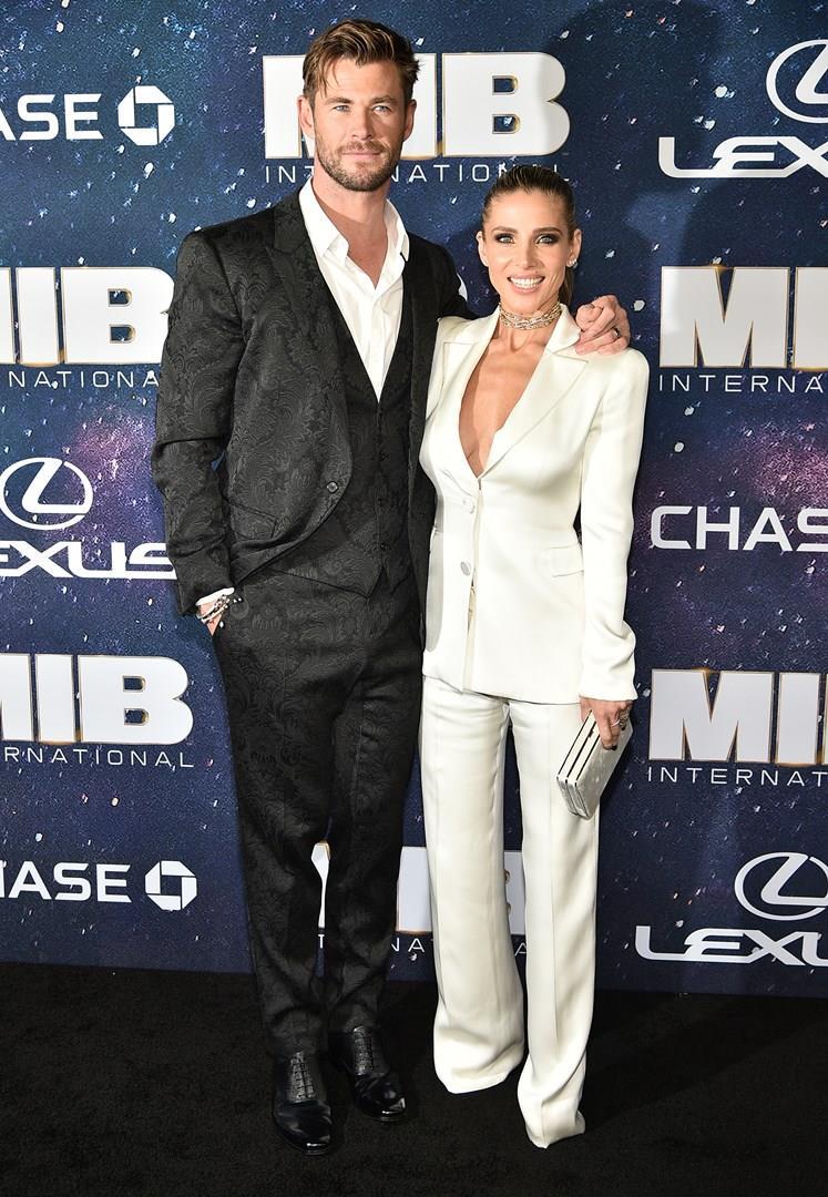 Chris Hemsworth e la moglie Elsa Pataky