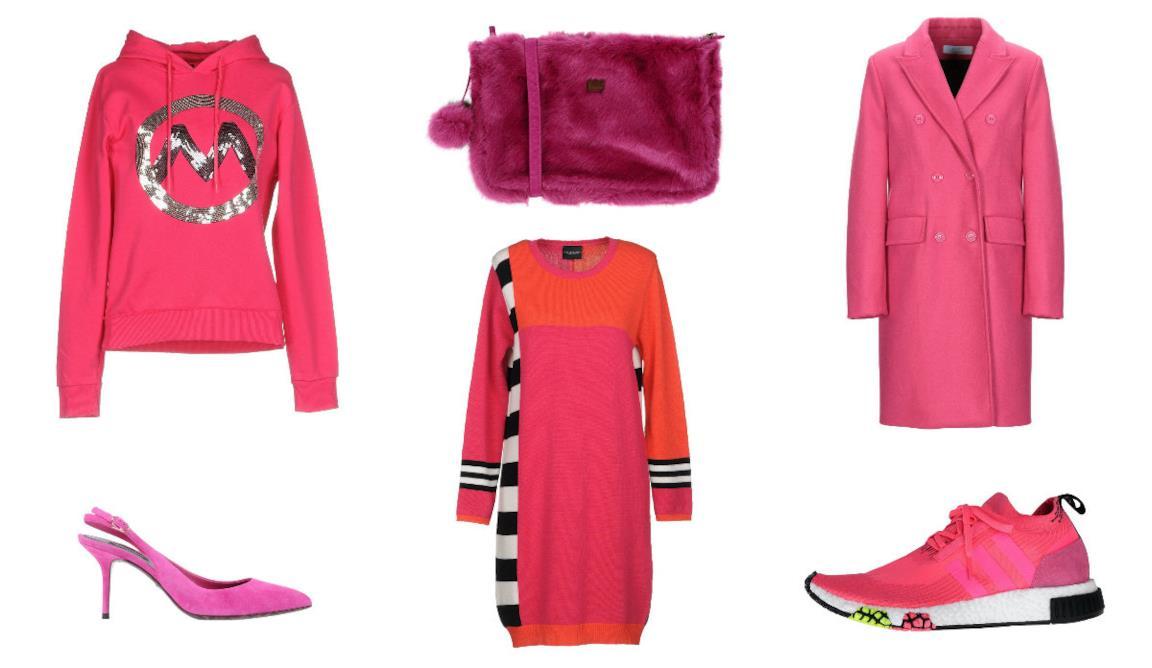16adb51b66ce Di moda il colore fucsia  capi e accessori donna per l inverno 2018