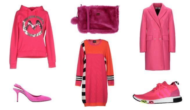 Di moda il colore fucsia  capi e accessori donna per l inverno 2018 110876b2c30