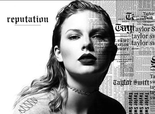 Taylor Swift in primo piano
