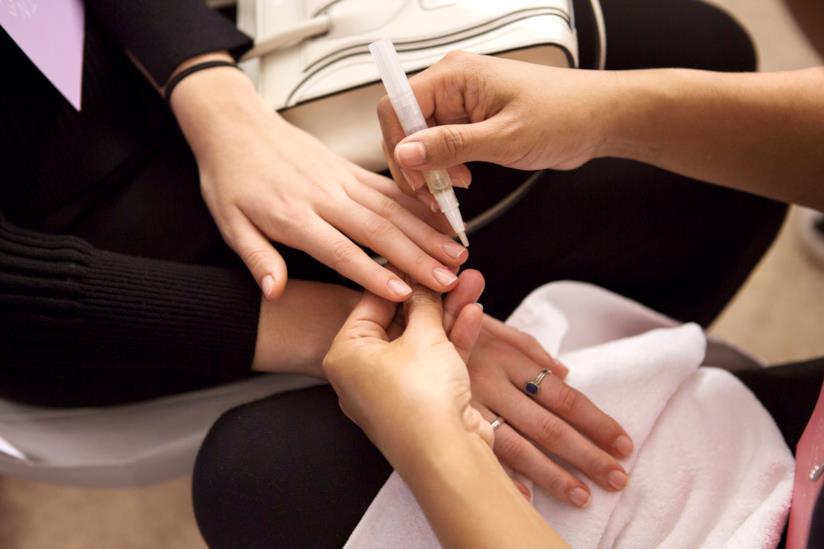 Manicure senza lima