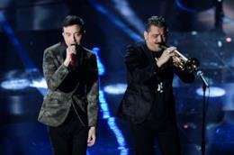L'esibizione di Diodato e Roy Paci a Sanremo 2018