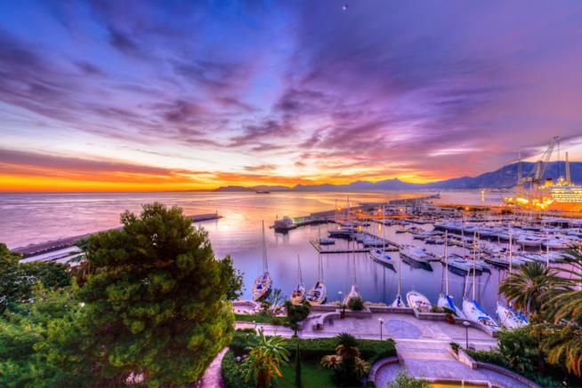 Il porto di Palermo